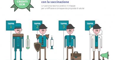"""Corso Fad (45 Ecm) gratuito per infermieri, medici """"Proteggere dall'influenza con la vaccinazione"""""""
