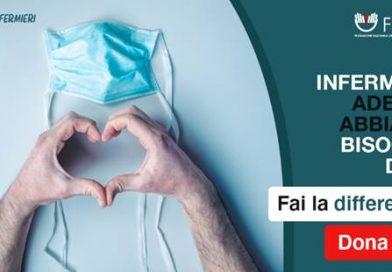 Fondo di solidarietà #Noicongliinfermieri: presentazione nuove domande