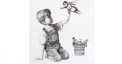 Banksy ringrazia tutti i lavoratori della sanità