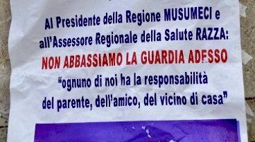 """Coronavirus, sit-in della Fsi-Usae a Messina: """"A Musumeci chiediamo tamponi rapidi per chi entra in Sicilia e due soli ospedali per malati Covid"""" 5"""
