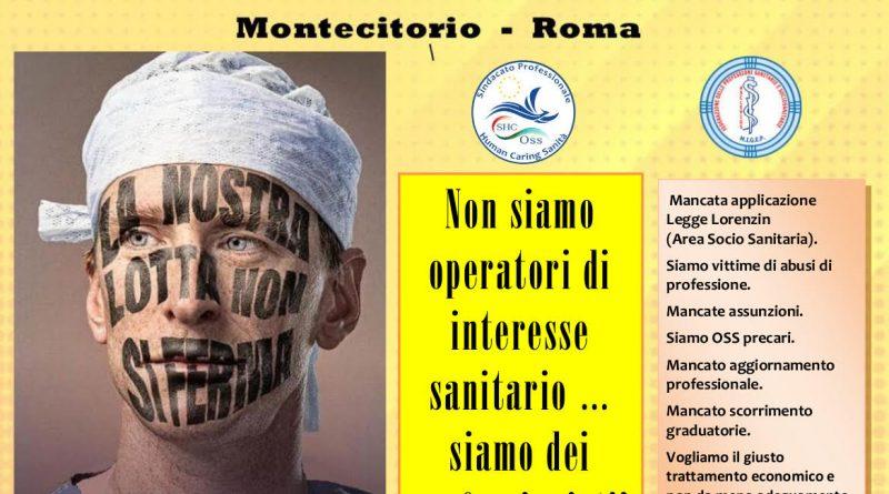 Migep, Oss Shc: sciopero OSS 9 ottobre Roma