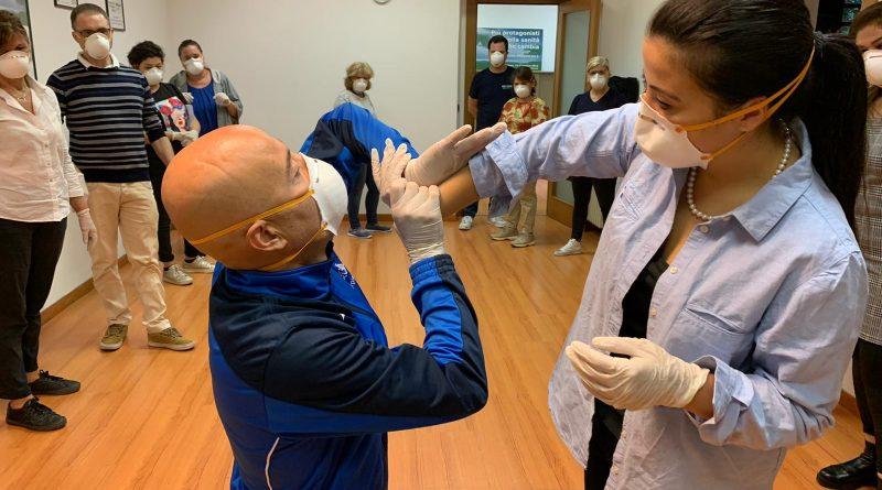 """Corso di formazione teorico -pratico: """"la gestione delle aggressioni in ambiente sanitario"""" 2"""