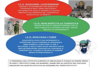 L'Istituto europeo di Oncologia fa cassa sugli Infermieri