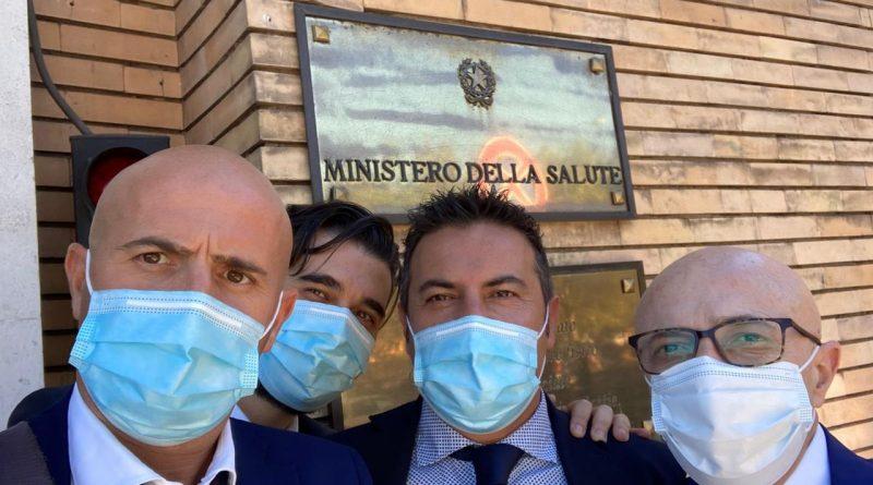 Riorganizzazione Sanità in Basilicata, delegazione Fials Matera incontra Vice Ministro Sileri, Governatore Bardi e Assessore regionale Leone al Ministero della Salute