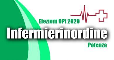 """Elezioni OPI Potenza, la lista """"Infermieri in Ordine"""" si presenta"""