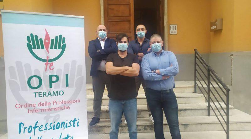 Cristian Pediconi confermato presidente dell'Ordine Professioni Infermieristiche di Teramo