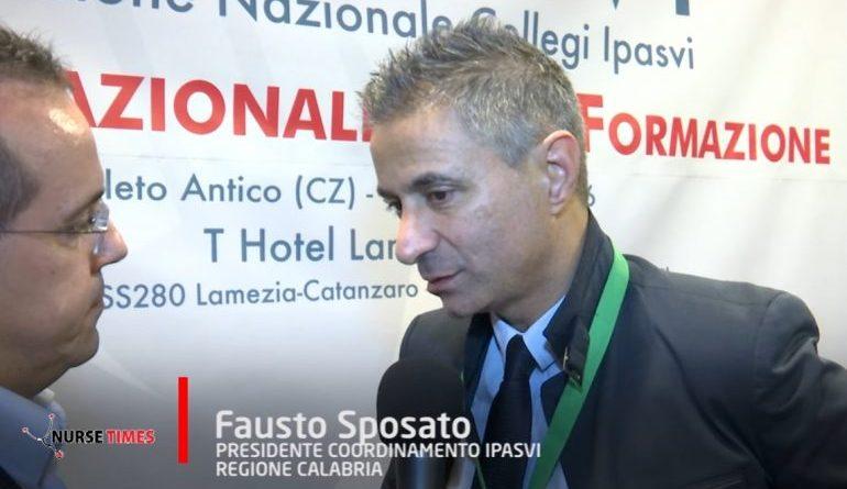 """Il presidente Fausto Sposato: """"Mancano 5000 infermieri, subito le assunzioni"""""""