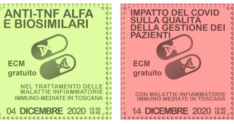 Toscana: due webinar ECM gratuiti sulla gestione dei pazienti non Covid al tempo della pandemia.