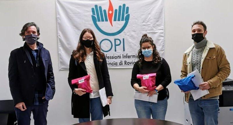 Continua la donazione dell'OPI di Rovigo di mascherine protettive ai propri iscritti. 1