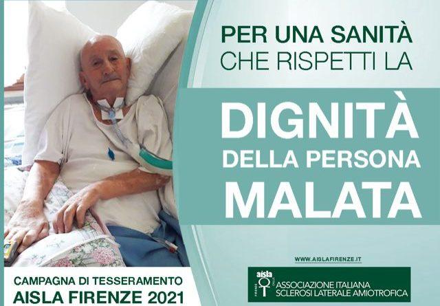 """Giornata Malattie Rare 2021, AISLA Firenze: """"Potenziare ora l'assistenza domiciliare. Le persone con SLA non possono aspettare oltre"""" 1"""