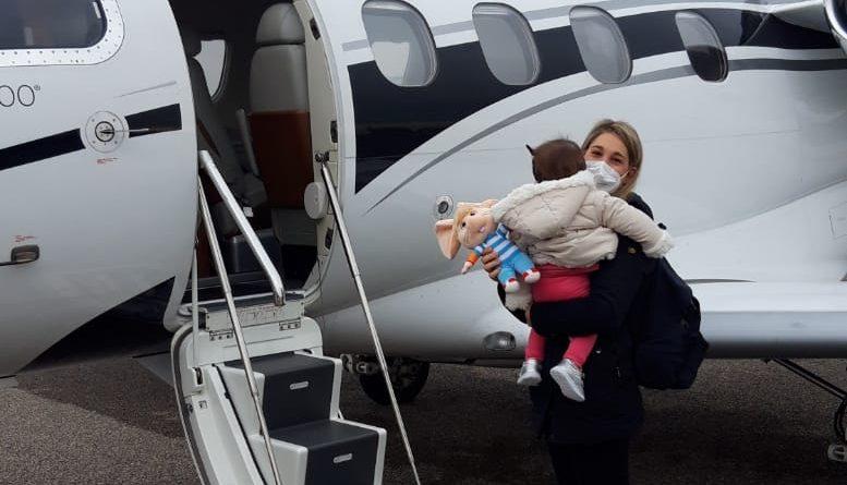 Flying Angels Foundation: Bimba padovana di 11 mesi, nata senza ghiandola del timo, vola a Londra per delicato intervento chirurgico