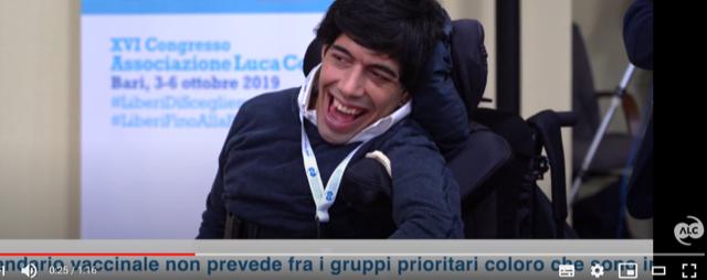 """Vaccini Covid-19, l'appello dell'Associazione Luca Coscioni al Governo: """"Priorità a tutte le persone con disabilità e ai loro caregiver"""""""