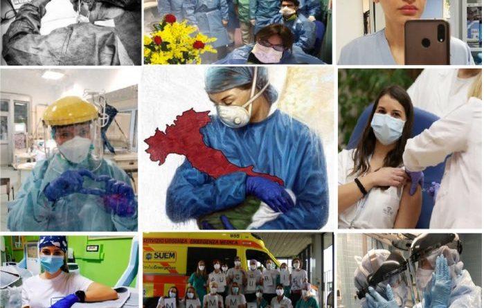 8 marzo 2021: un augurio alle infermiere per il loro doppio impegno sul lavoro al tempo di Covid e nella famiglia 1