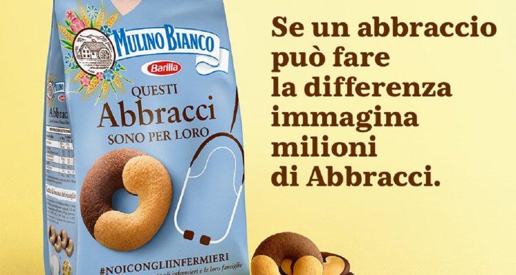 Abbracci che fanno la differenza: Fnopi ringrazia Barilla e tutti gli italiani