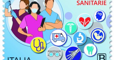 Dal MISE: un francobollo per ringraziare e fissare nella memoria tutte le professioni sanitarie