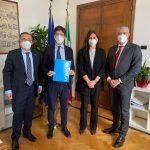 Ministro della salute Speranza incontra delegazione dell'Unicef