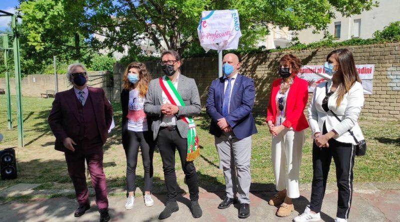 OPI Teramo: Giornata Internazionale dell'Infermiere - intitolazione giardino a Florence Nightingale 3