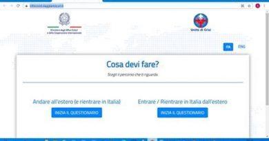 Covid-19: Aperti i confini e confinati gli italiani