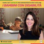Family Act – On. Stefania Mammì (M5S): Accolto mio emendamento, più tutele alle famiglie con figli disabili per garantire armonia e inclusione.
