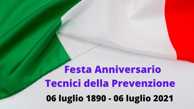 06 luglio 2021: festa dei Tecnici della Prevenzione