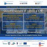 A Roma si gioca per dare un calcio alle disuguaglianze