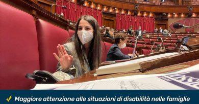Family act - On. Mammì (M5S): Sì a miei emendamenti per aiutare le famiglie e i ragazzi con disabilità