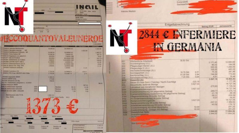 L'Italia non è un paese del terzo mondo, ma gli stipendi si, sono da terzo mondo