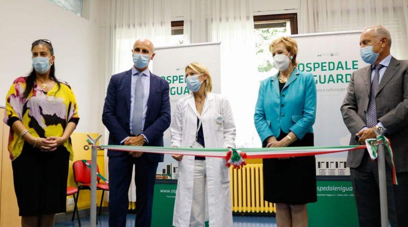 Inaugurata oggi la nuova Neuropsichiatria infantile di Niguarda con il Vice Presidente di Regione Lombardia, Letizia Moratti